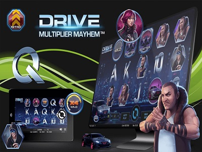 Drive Multiplier Mayhem Videoslot