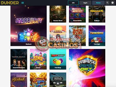 Dunder Casino met iDeal