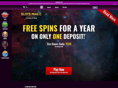 Slotsmagic Casino met iDeal