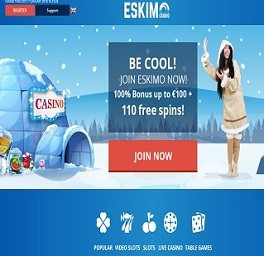 Eskimo Casino met iDeal